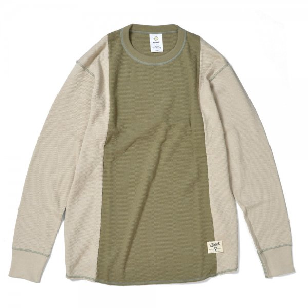 TWO TONE THERMAL SHIRT