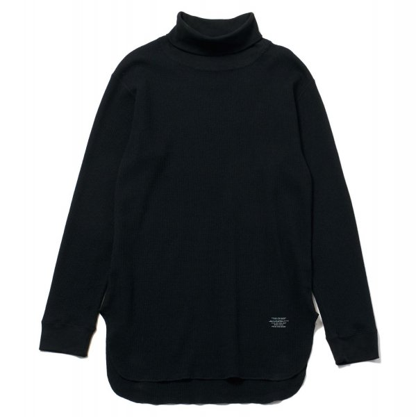VINCENT LONG THERMAL HIGH NECK TEE