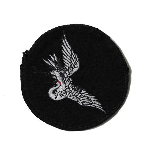 Yōso × RUDE GALLERY TSURU CIRCLE POUCH