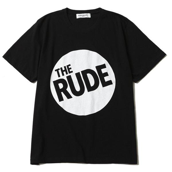 RUDE CIRCLE LOGO TEE