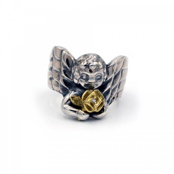 GUARDIAN ANGEL RING - ROSE