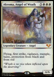 怒りの天使アクローマ/Akroma, Angel of Wrath