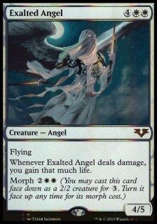 賛美されし天使/Exalted Angel