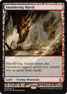 燻る湿地/Smoldering Marsh