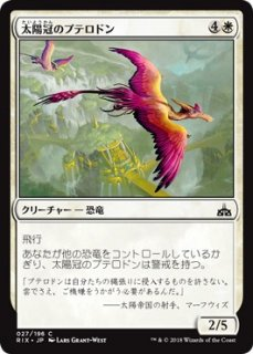 太陽冠のプテロドン/Sun-Crested Pterodon