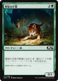 獰猛な仔狼/Ferocious Pup