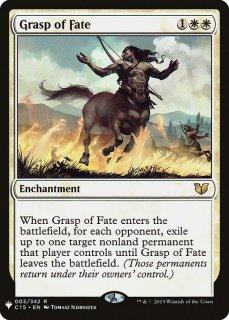 命運の掌握/Grasp of Fate