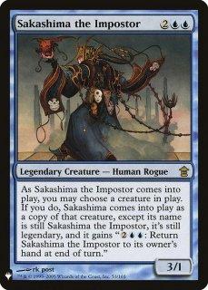 騙り者、逆嶋/Sakashima the Impostor