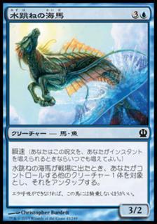 水跳ねの海馬/Breaching Hippocamp