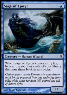 エピティアの賢者/Sage of Epityr
