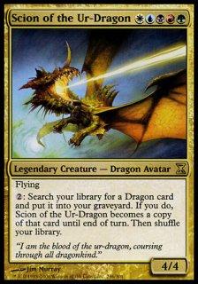始祖ドラゴンの末裔/Scion of the Ur-Dragon
