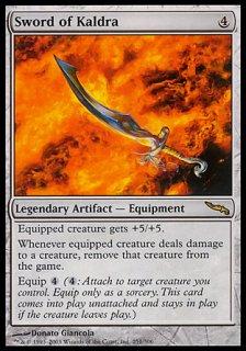 カルドラの剣/Sword of Kaldra