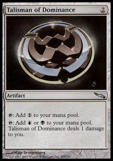 威圧のタリスマン/Talisman of Dominance