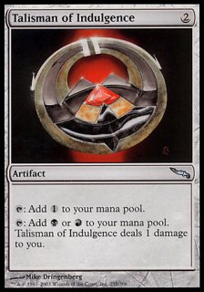 耽溺のタリスマン/Talisman of Indulgence