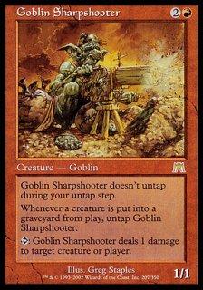 ゴブリンの名手/Goblin Sharpshooter