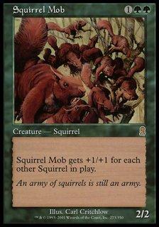 リスの群れ/Squirrel Mob