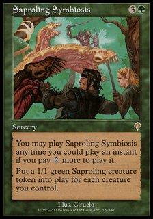 菌獣の共生/Saproling Symbiosis