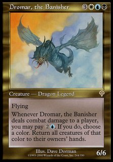 追放するものドロマー/Dromar, the Banisher