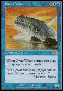 巨大鯨/Great Whale
