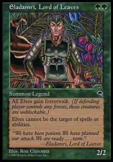 葉の王エラダムリー/Eladamri, Lord of Leaves