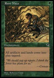 根の迷路/Root Maze