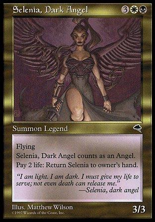 闇の天使セレニア/Selenia, Dark Angel - マジック:ザ・ギャザリング ...