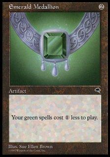 エメラルドの大メダル/Emerald Medallion