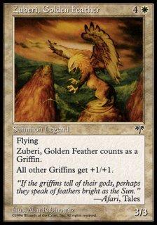 黄金の羽根ズーベリー/Zuberi, Golden Feather