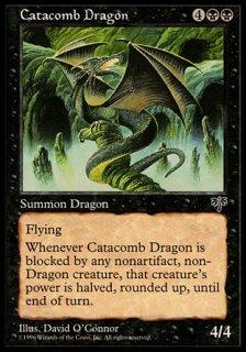 地下墓地のドラゴン/Catacomb Dragon