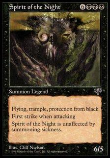 夜のスピリット/Spirit of the Night
