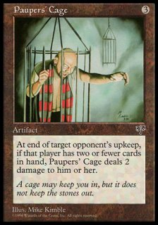 持たざる者の檻/Paupers' Cage