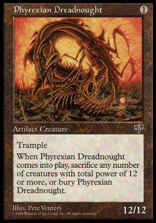 ファイレクシアン・ドレッドノート/Phyrexian Dreadnought
