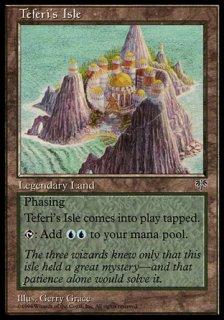テフェリーの島/Teferi's Isle
