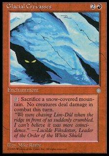 Glacial Crevasses