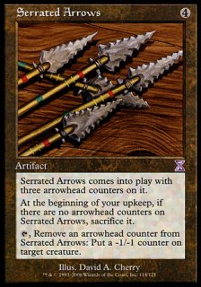 鋸刃の矢/Serrated Arrows