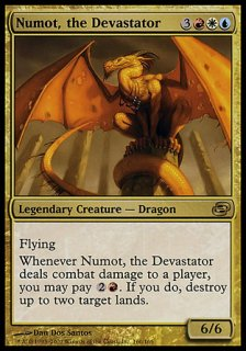 壊滅させるものヌーマット/Numot, the Devastator