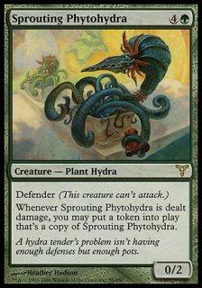 芽吹く草ハイドラ/Sprouting Phytohydra