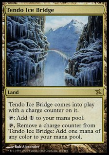 氷の橋、天戸/Tendo Ice Bridge
