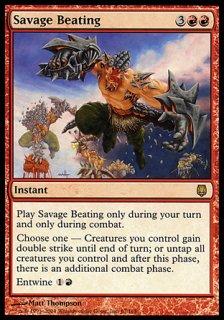 凶暴な打撃/Savage Beating