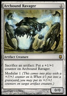 電結の荒廃者/Arcbound Ravager