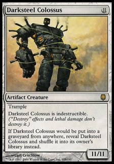 ダークスティールの巨像/Darksteel Colossus