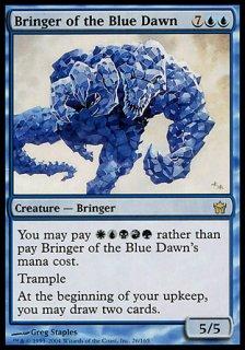 青の夜明けの運び手/Bringer of the Blue Dawn