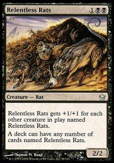 執拗なネズミ/Relentless Rats