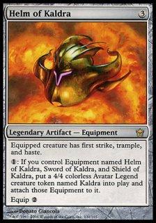 カルドラの兜/Helm of Kaldra