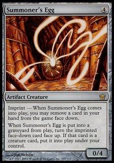 召喚者の卵/Summoner's Egg