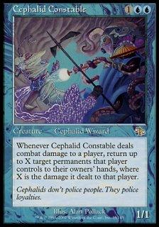 セファリッドの警官/Cephalid Constable