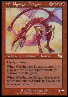世界喰らいのドラゴン/Worldgorger Dragon