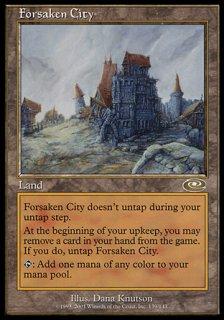 見捨てられた都市/Forsaken City