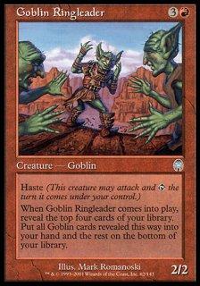 ゴブリンの首謀者/Goblin Ringleader
