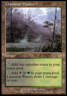 ラノワールの荒原/Llanowar Wastes
